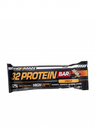 Ironman 32 протеиновый батончик 50 гр 32% белка