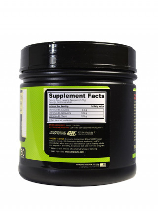 Optimum Nutrition BCAA 5000 Powder 345 г Без вкуса
