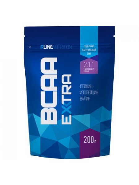 RLine BCAA EXTRA пакет 200 г