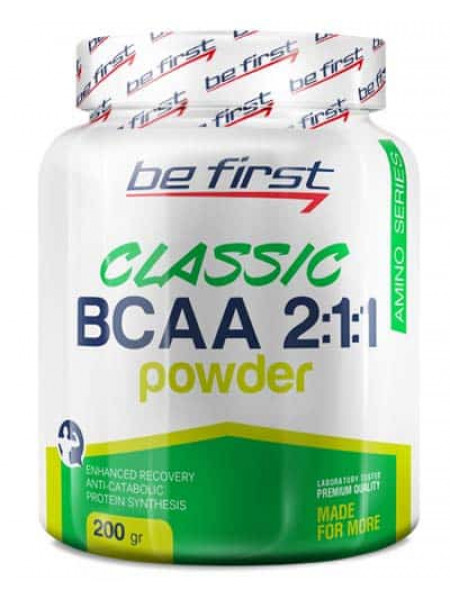 Be First BCAA 2:1:1 Classic Powder 200 гр