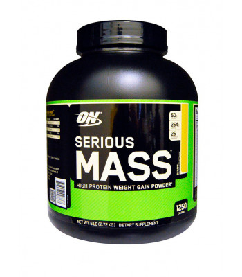 Optimum Nutrition Serious Mass 2720 г