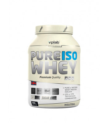 VPLab Pure Iso Whey 908 г