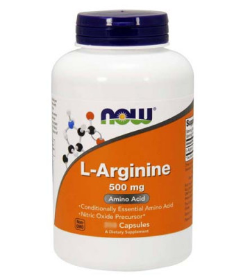 NOW L-Arginine 500 мг 100 капс