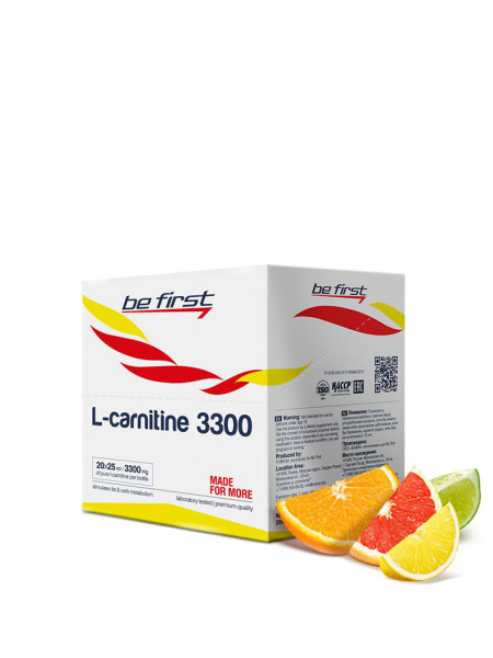 Be First L-Carnitine 3300 20 x 25 ml