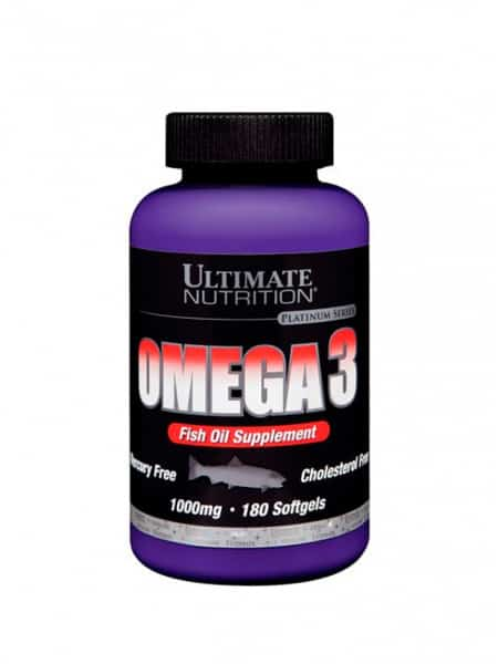 Ultimate Nutrition Omega-3 180 капс