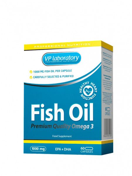 VPLab Fish Oil 1000мг 60 кап