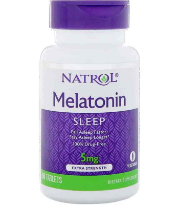 Natrol Melatonin 5 мг 60 таб