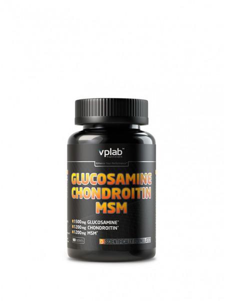 VPLab Glucosamine Chondroitin & MSM 90 табл