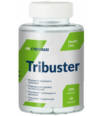 Cybermass Tribuster без вкуса 100 капс