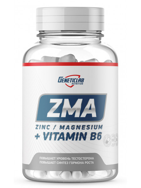 Geneticlab Nutrition ZMA 60 капс