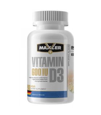 Maxler Vitamin D3 240 капс