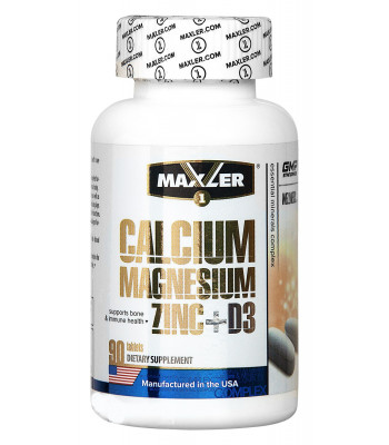 Maxler Calcium Zinc Magnesium D3 90 таб