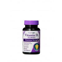Natrol Vitamin D3 10000 ме Нейтральный 60 табл.