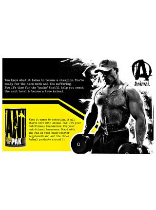 Universal Nutrition Animal Pak 15 пак