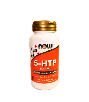 NOW 5-HTP 100 мг 60 капс