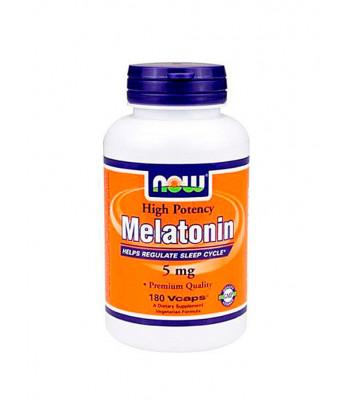 NOW Melatonin 5 mg 180 капс