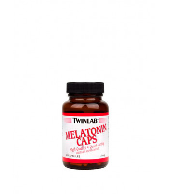 TwinLab Melatonin Caps 60 капс