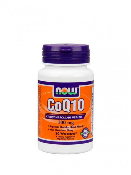 NOW CoQ10 100 мг 30 капс