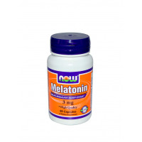 NOW Melatonin 3 mg 60 капс