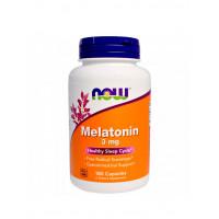 NOW Melatonin 3 mg 180 капс