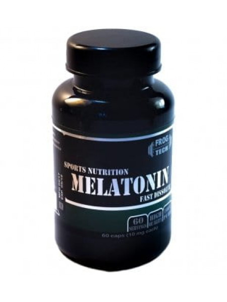 Frog Tech Melatonin 10 mg 60 капс
