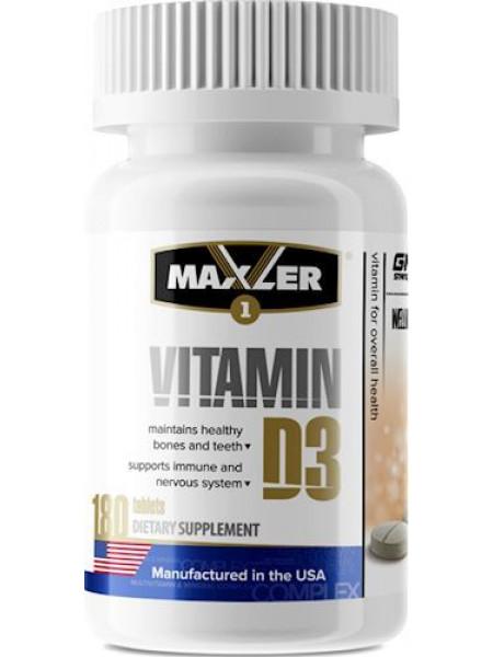 Maxler Vitamin D3 180 таб