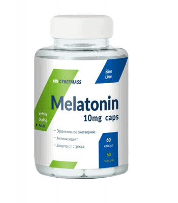 Cybermass Melatonin 10 мг 60 капс