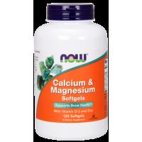 Now Calcium & Magnesium с D3 и цинком 120 капс