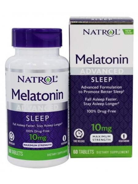 Natrol Melatonin 10 мг 60 табл