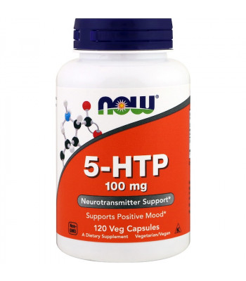 Now 5-HTP 100 мг 120 капсул