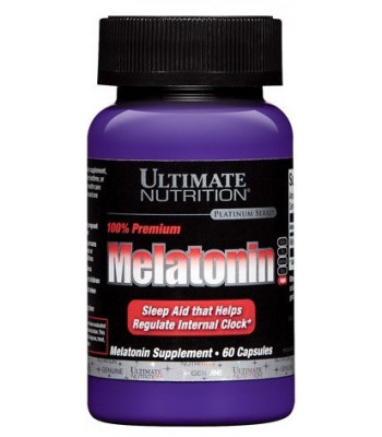 Ultimate Nutrition Melatonin 3мг 60 капс